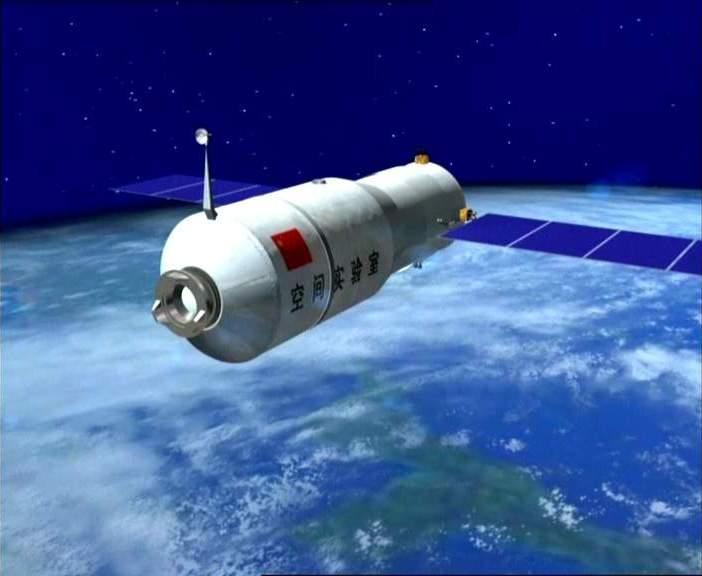 Resultado de imagen de módulo orbital Tiangong-2