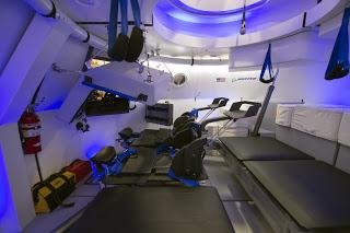 La nave espacial cst 100 toma forma astron utica eureka for Interior nave espacial
