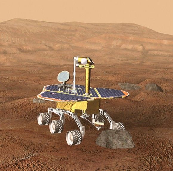 mars-exploration-rover-early-version