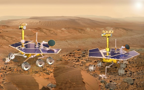mars-exploration-rover-twins-on-mars