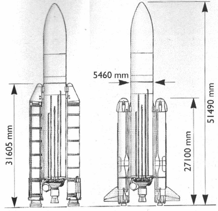 Un nuevo cohete reutilizable ruso europeo astron utica for Planos para cocina cohete