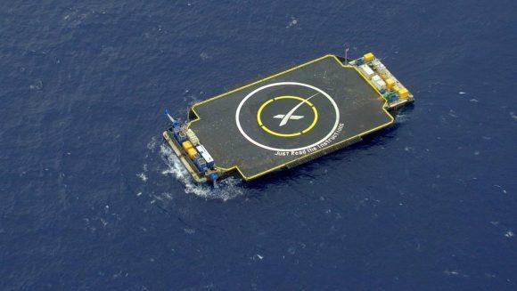 Barcaza de recuperación de la primera etapa (SpaceX).