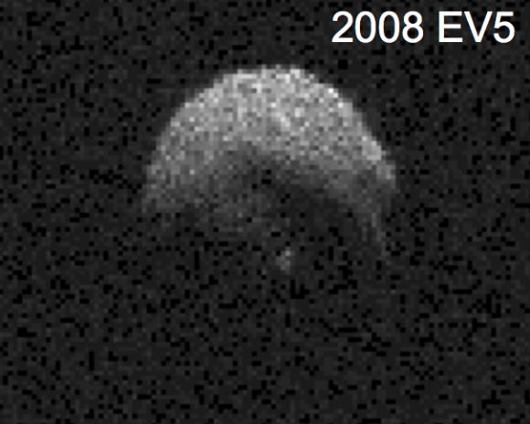 2008 EV5 es el candidato favorito para la misión ARM (NASA).