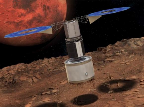 Aplicación de la tecnología de la misión ARM en una misión a las lunas de Marte (NASA).