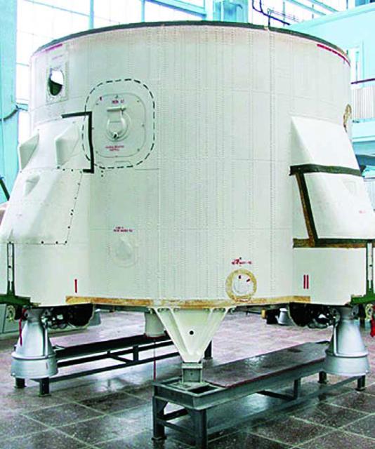 Conjuntos de motores vernier del Tsiklon 4 (ALC).
