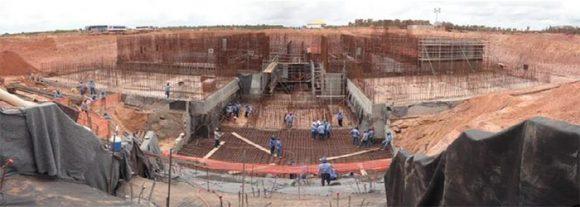 Construcción de las instalaciones de lanzamiento en Alcantara (ACS).
