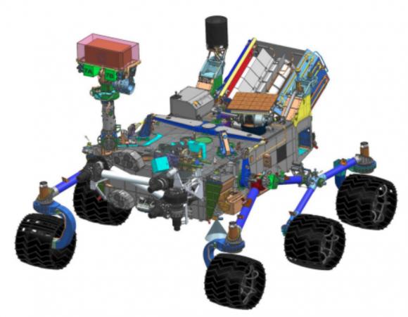 Rover marciano de 2020 (NASA).