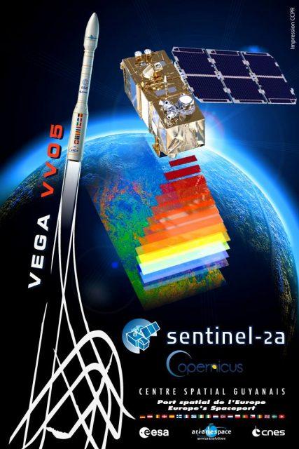 Cartel de la misión (ESA).