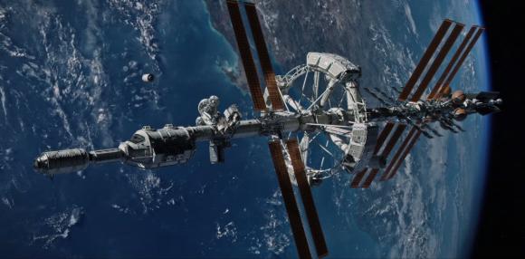 La nave marciana Ares III ().
