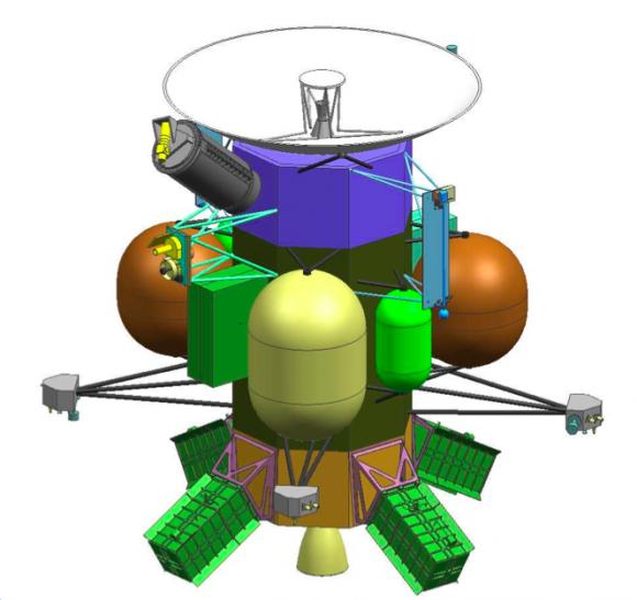 Sonda de sobrevuelo de Europa con ASRG propuesta a principios de 2012 (NASA).