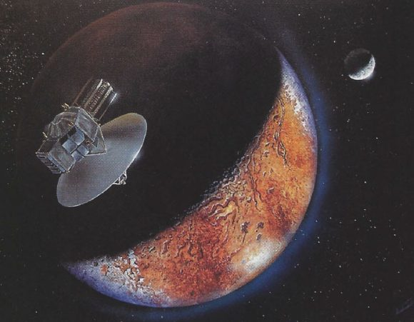 Pluto Fast Flyby de 1992 (NASA/Michael Carroll/The Planetary Report).