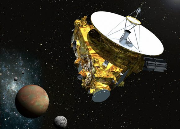 Sonda New Horizons (NASA).