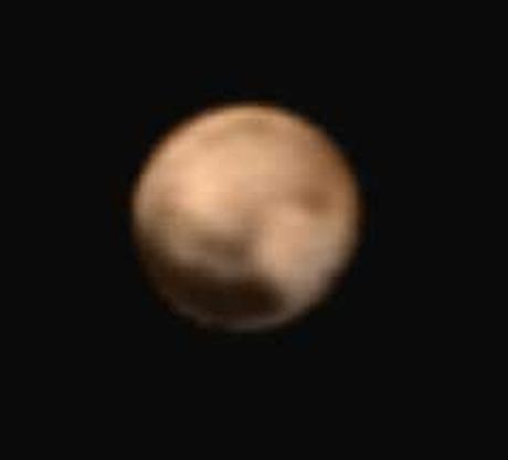 Plutón visto por la New Horizons el 25 de junio (NASA/Johns Hopkins University Applied Physics Laboratory/Southwest Research Institute).