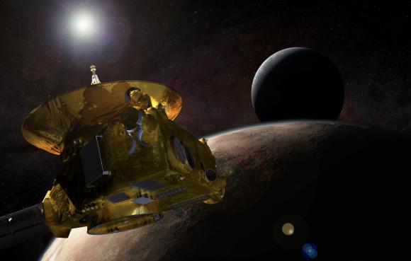 El 14 de julio la New Horizons pasará por el sistema de Plutón (NASA).