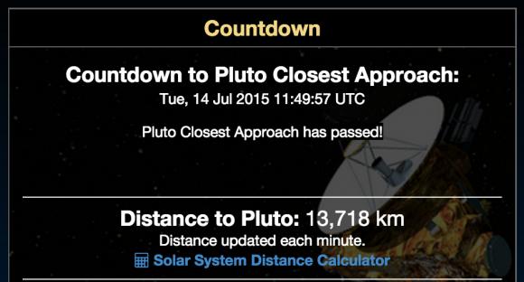 El día ha llegado (NASA).