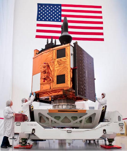 Un satélite GPS IIF (Boeing).