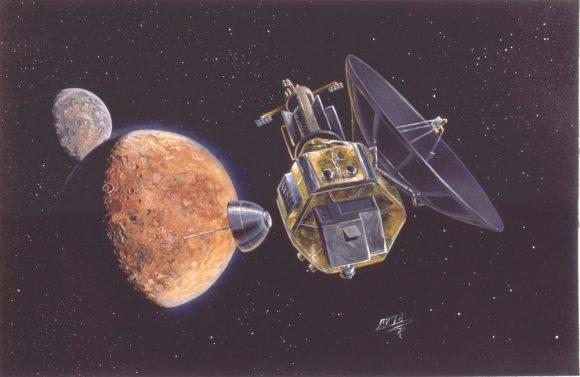 La PFF suelta la sonda rusa para el estudio de Plutón (Michael Carroll).