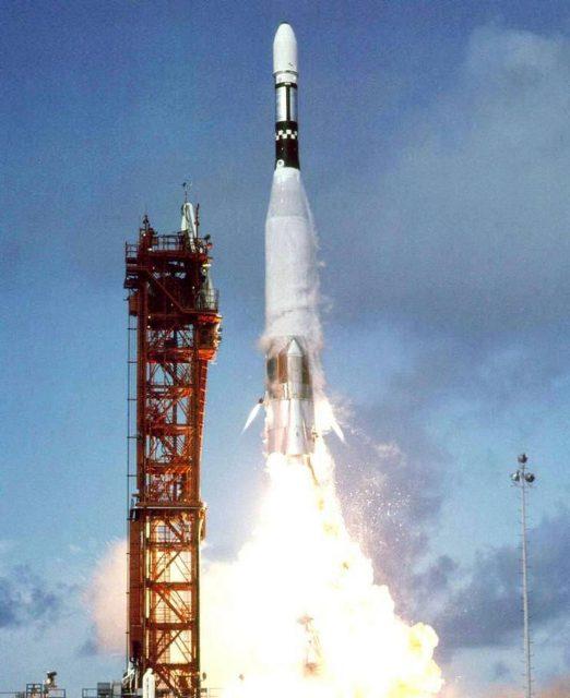 Lanzamiento de la Mariner 4 (NASA/JPL).