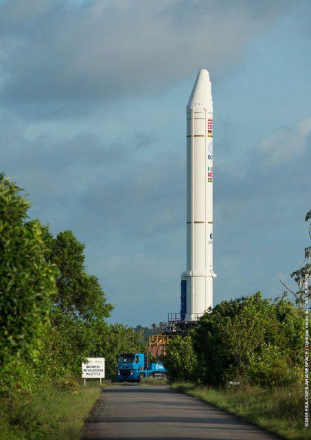 EAP de la misión VA225 (Arianespace).