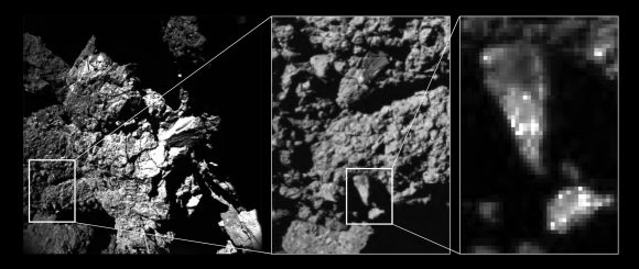 Brightness_variations_of_comet_surface