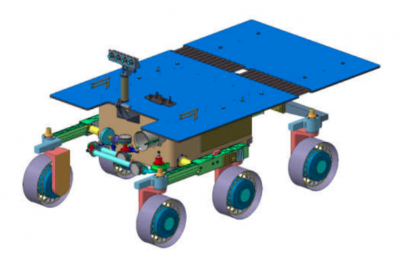 Diseño preliminar del rover MPL (ESA).