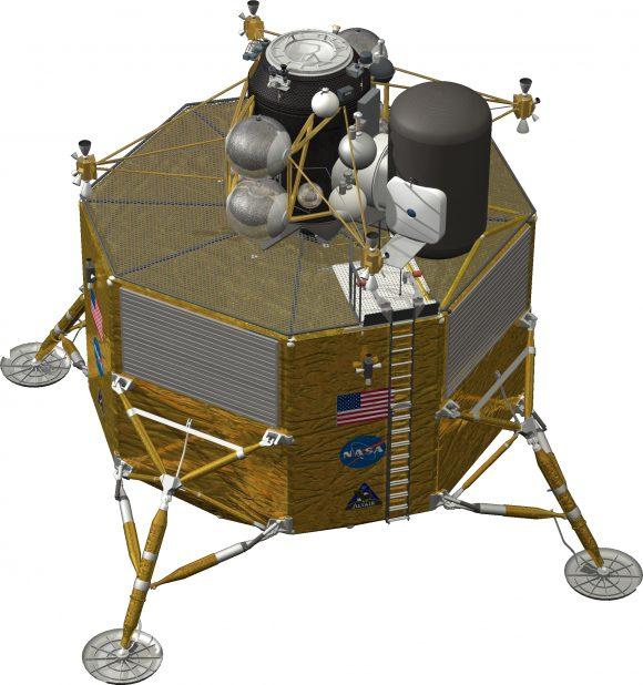 Última versión del Altair antes de su cancelación (NASA).