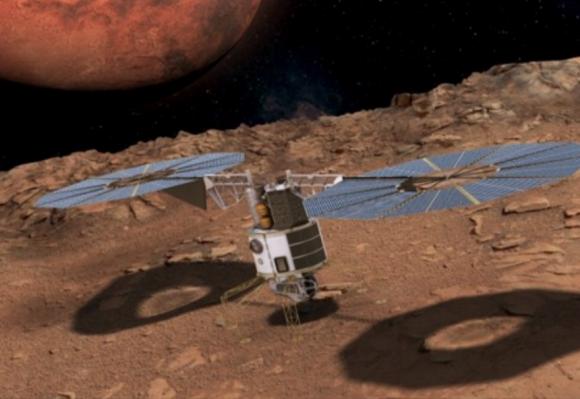 Otra propuesta de hábitat de Fobos (NASA).