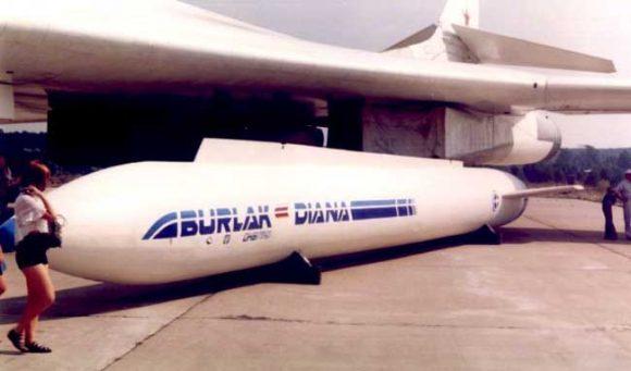 Maqueta del Burlak.