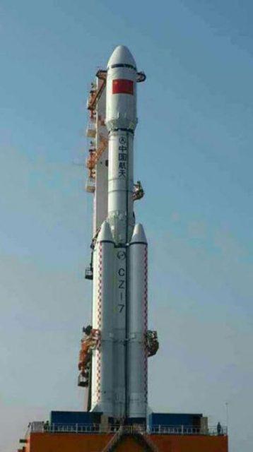 Cohete Larga Marcha CZ-7 (9ifly).