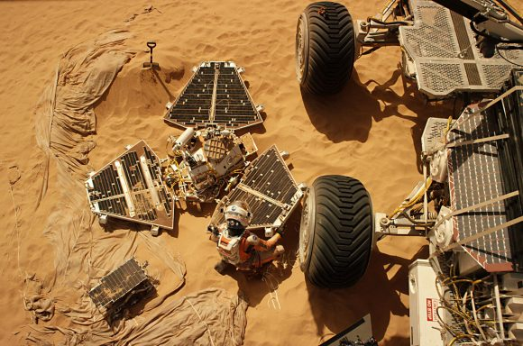 La Pathfinder en The Martian (20th Century Fox).