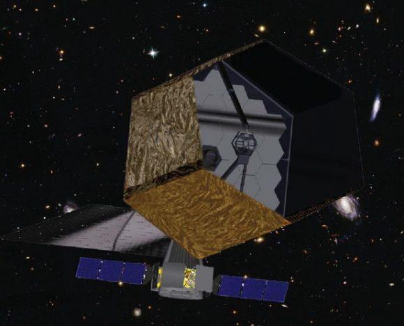 Posible aspecto del HDST (NASA).