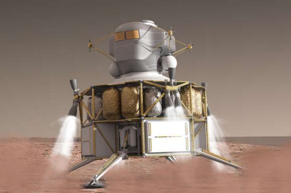 Un MAV propuesto por Boeing en 2014 (Boeing/NASA).
