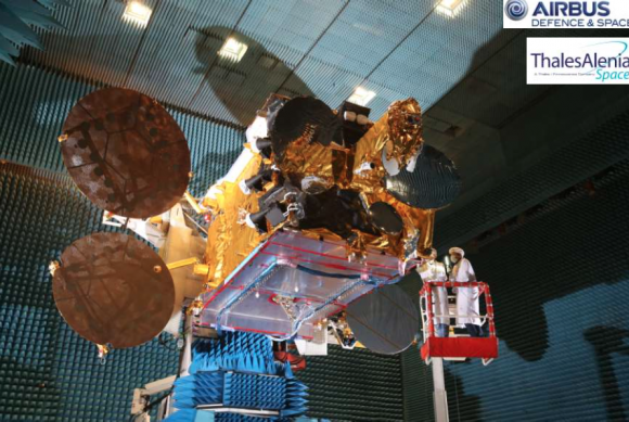 Arabsat 6B (Airbus Defence and Space).