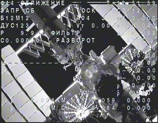 Separación de la Soyuz (TsUP).