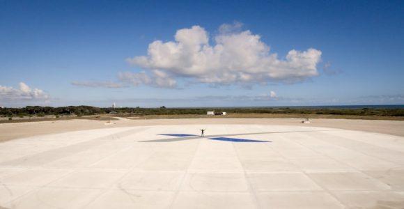 Zona de aterrizaje en Cabo Cañaveral (LZ1) (SpaceX).