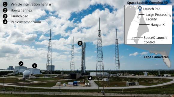 Rampa de lanzamiento SLC-40 (SpaceX).