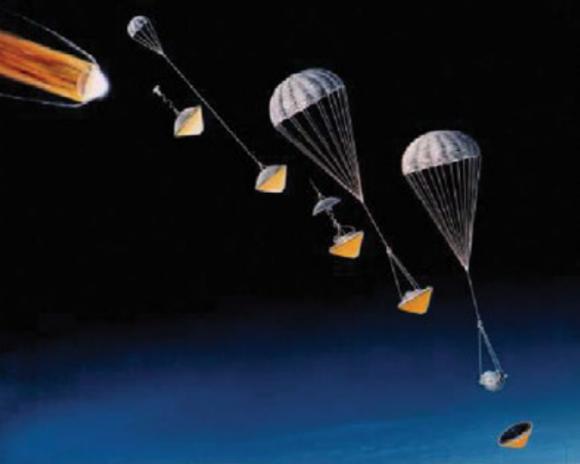 Sonda para estudiar la atmósfera de Saturno (NASA).