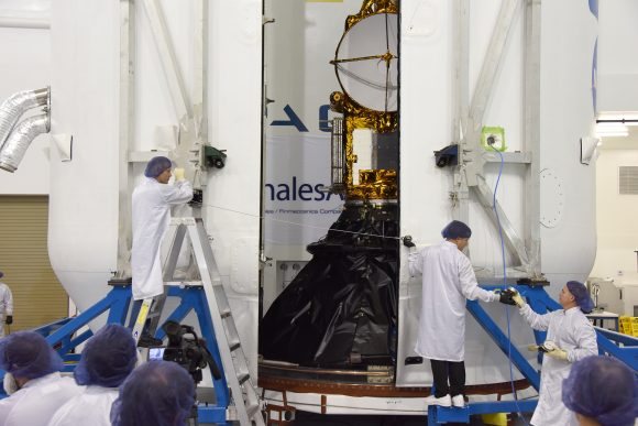 Jason-3 SpaceX Encapsulation