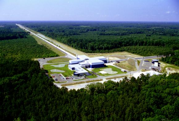 Detector LIGO de Livingston (LIGO).