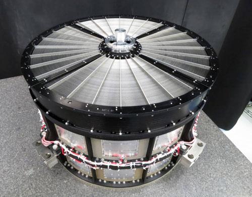 Uno de los telescopios de óptica rasante SXT (JAXA).