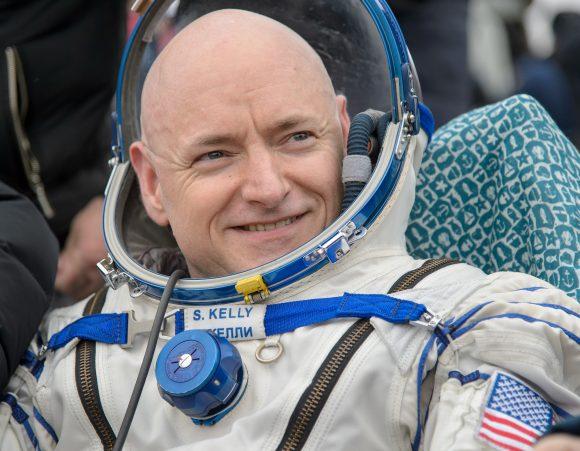 Sott Kelly es el astronauta de la NASA que más tiempo ha permanecido en el espacio (NASA/Bill Ingals).