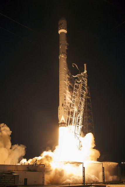 Lanzamiento del SES 9 (SpaceX).