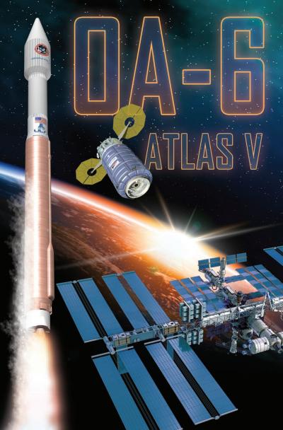 Póster de la misión de ULA (ULA).
