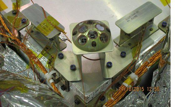Retrorreflector láser INRRI (ESA).