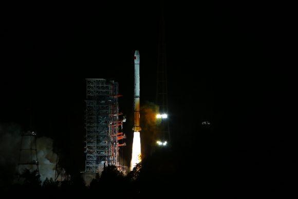 Lanzamiento del Beidou 22 (Xinhua).