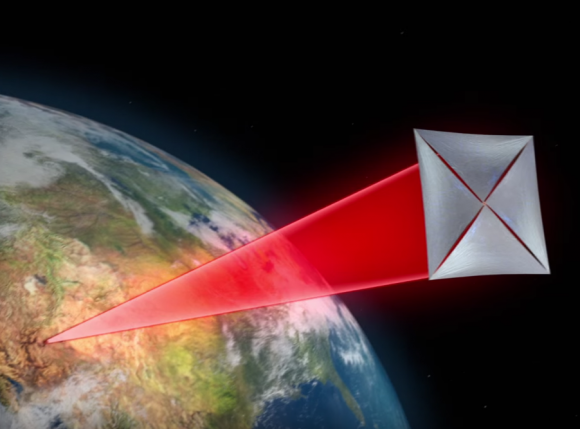 Una nanovela láser para viajar a Alfa Centauri (Breakthrough Starshot).