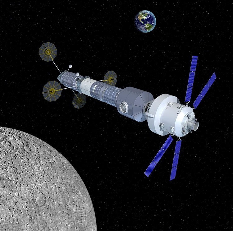 la estaci n lunar de orbital astron utica eureka