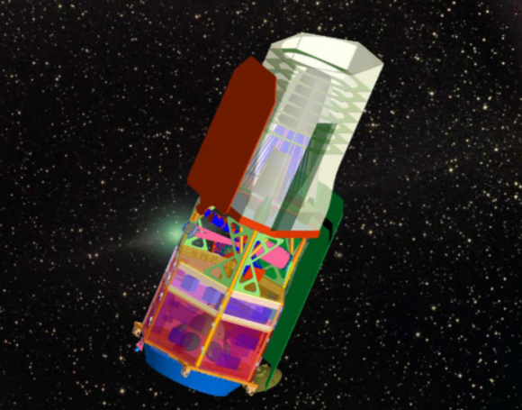 Concepto WFIRST original de 2011 (NASA).