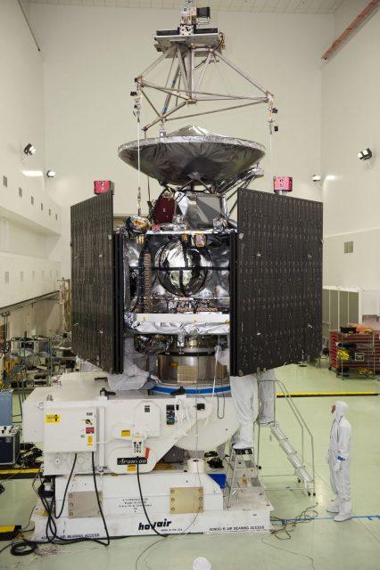Juno en configuración de lanzamiento (NASA).