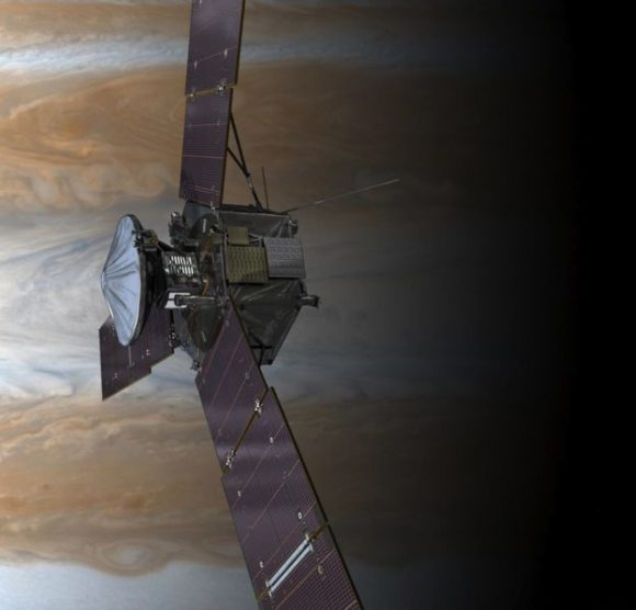 Juno es la sonda más rápida alrededor de un planeta (NASA).